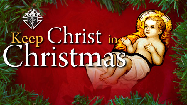 keep christ in christmas Happy holidays er---i mean, merry christmas have you been reminded yet to keep christ in christmas the keep christ in christmas movement isn't as old as you might think.