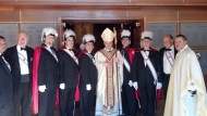 Bishop Caggiano visits St. Matthew Church, Thanksgiving 2013