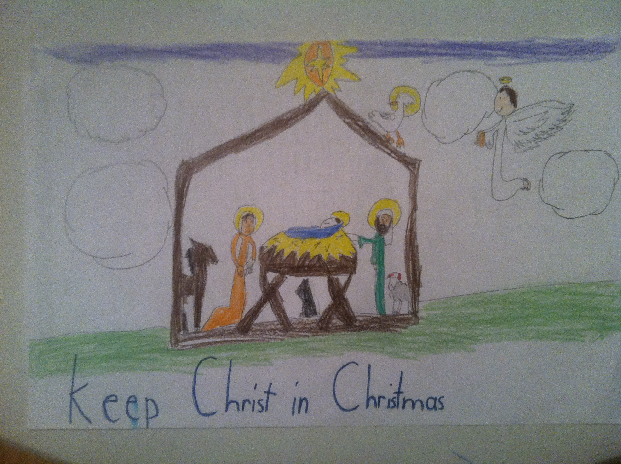 "All Saints Students help ""Keep Christ in Christmas"" with annual ..."