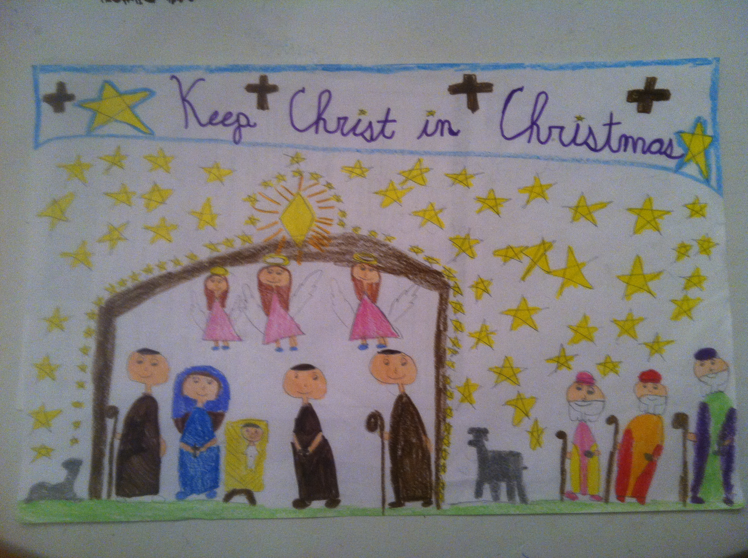 """All Saints Students help """"Keep Christ in Christmas"""" with annual ..."""